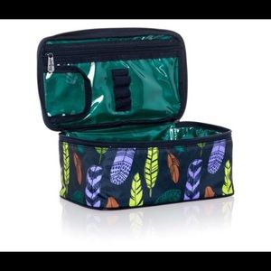 Thirty-One Glamour Case Falling Feathers